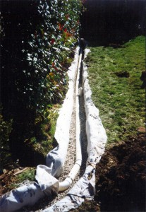 Advantages of a french drain