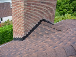 Chimney counter flashing
