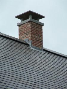 Installing a chimney cap