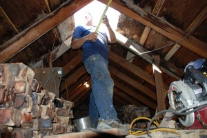 Chimney removal safety tips