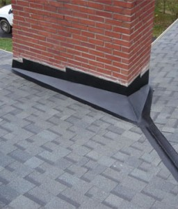 Building a chimney flashing