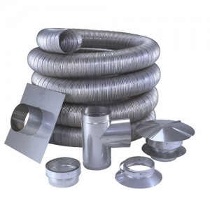 Stainless steel or aluminum chimney liners?