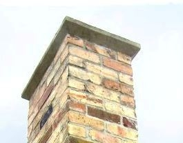 Cementing a chimney cap