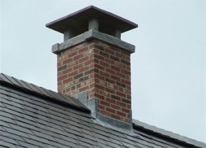 Sealing a chimney cap