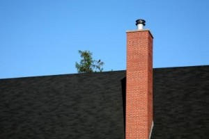 Insulating a chimney flue