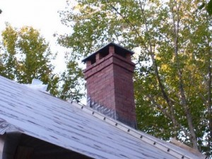 Chimney top installation