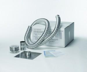 Rustfritt stål flue liner installasjonsprosessen