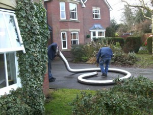 How to install a flexible flue liner