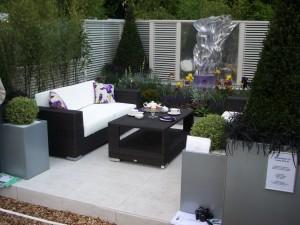 Los diseños modernos patio