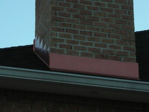 Chimney flashing installation tips