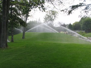 Vanningssystem vanntrykk måling