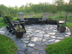Slate patio designs