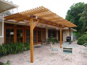 Patio design - Building materials