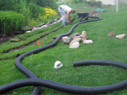 Pros and cons of drainage systems