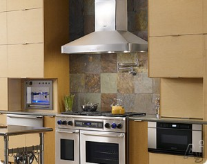 Stainless steel chimney hood installation safety tips