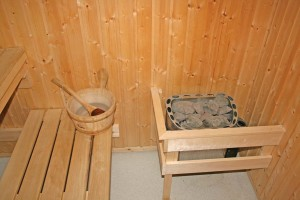 Sauna rock use