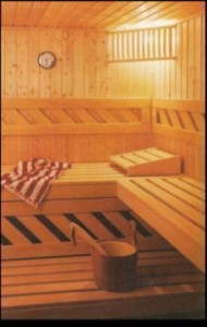 Sauna building process