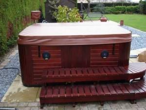 Hot tub plaatsing