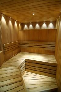 Sauna lighting