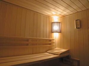 Home sauna planning