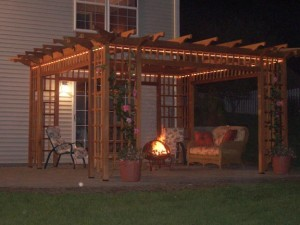 About pergolas and gazebos
