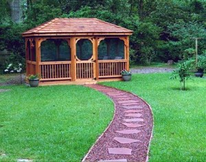 Waterproofing your gazebo panels