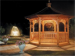 Gazebo lighting