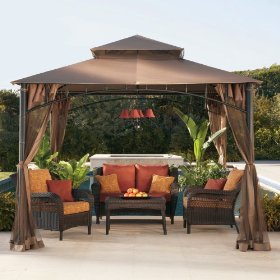 Picking out a garden gazebo