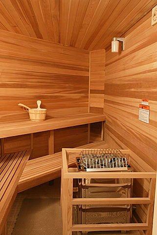 Indoor sauna vs. outdoors sauna