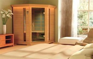 Far infrared sauna therapy to clean our bodies