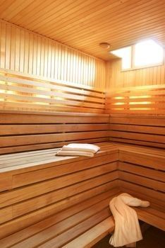 Sauna therapy can make stress disappear