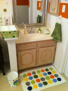 How to install a sink into your baby's room
