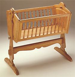 Make a baby cradle with your own hands