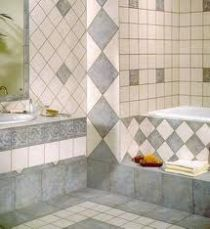 Decorate using ceramic tiles