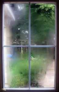 Condensation effects for interior windows