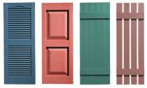 Decorative Window Shutters Which Are Durable