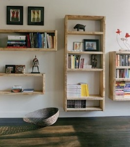 Instructions to build your own media-shelving unit