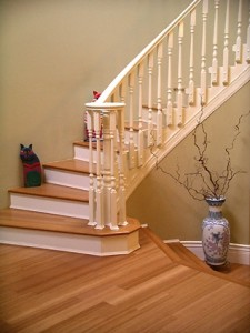 Interesting ideas for staircase molding