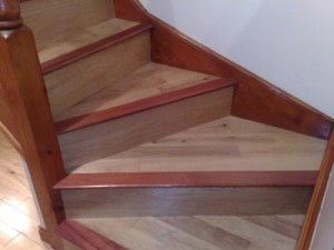 Different flooring ideas for stairs