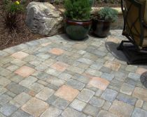 How to make concrete paving tiles