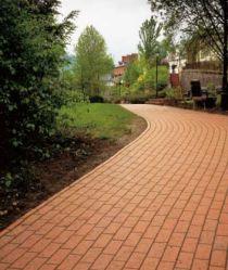 Using paving tiles