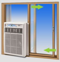 How to install a window air conditioner