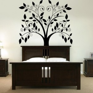 Bedroom wall stickers ideas