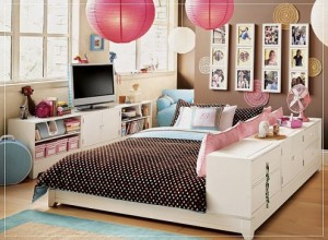Different ideas to paint the bedroom of a teenager