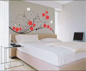 Nyttige tips for soverommet vegger dekorasjon
