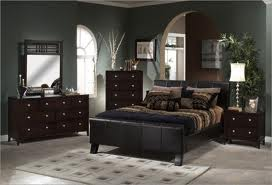 Suitable colors for bedrooms with dark furniture