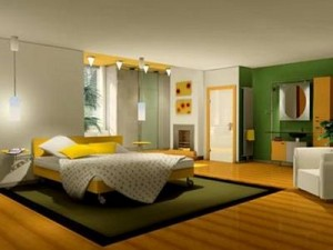 Which are the most suitable colors for bedrooms?