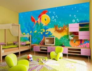 Hvordan å male veggene i en jentes soverom