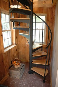 Spiral staircase building instructions