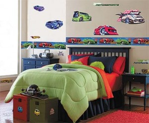Decoration tips. Bedrooms for boys